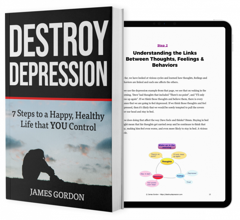 destroy depression book